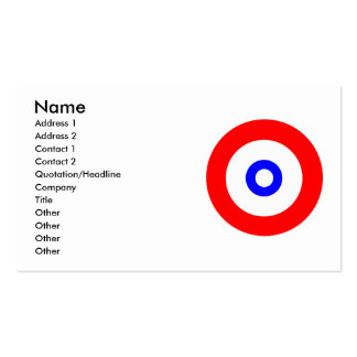The spirit of Curling Business Card Templates