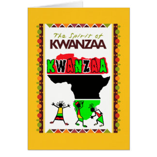 The Spirit Of Kwanzaa Holiday Greeting Cards