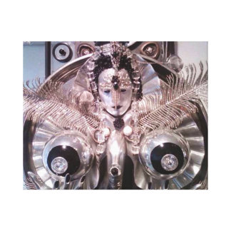 The spirit of silver gallery wrapped canvas