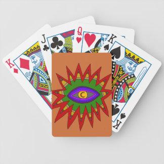 The Spiritual Atom Bicycle Playing Cards