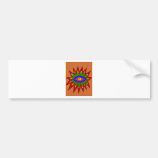 The Spiritual Atom Bumper Sticker
