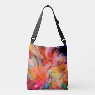 The Spiritual  Energy Of Color by Sherriofpalmspri Crossbody Bag