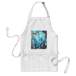 The Spiritual War abstract expressionism Aprons