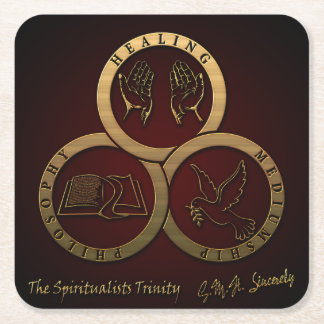 The Spiritualists' Trinity (GMH Sincerely) Coaster