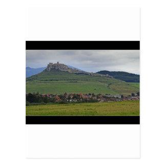 The Spis Castle The Largest Castle Of Central Euro Postcard
