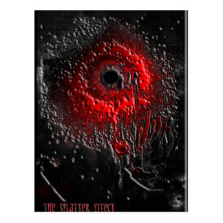 The Splatter Effect Postcard