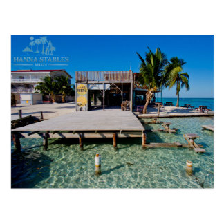 The Split at Caye Caulker, Belise Postcard