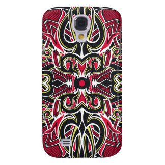 The Spoils Card Back (Red) Galaxy S4 Covers
