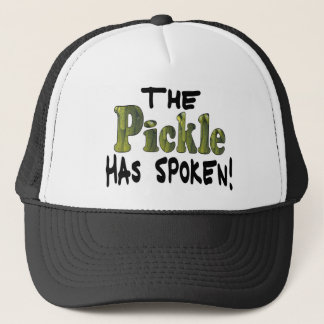 The Spoken Pickle Trucker Hat