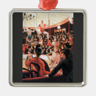The sporting women by James Tissot Christmas Ornament