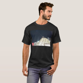 The spring of Venus (shining star) and pyramid T-Shirt