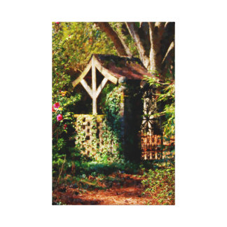 The Spring Well Oil Paining Canvas Print