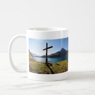 The Spullersee Mountain Lake Vorarlberg Austria Coffee Mug
