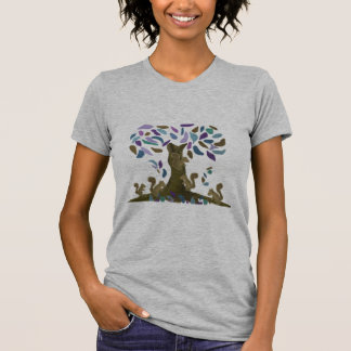 The Squirrel's Treehouse Tshirts
