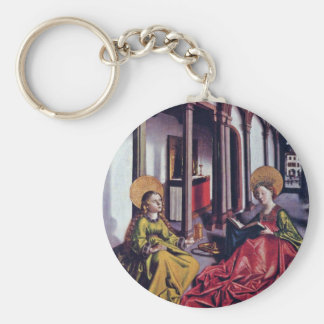 The St. Catherine And Mary Magdalene By Birth Name Key Ring