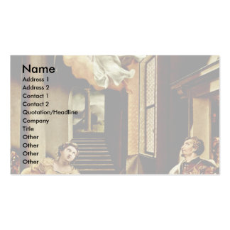 The St Cecilia And St Valerian By Orsi Lelio Be Business Cards