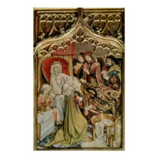 The St. Elizabeth Altarpiece Poster