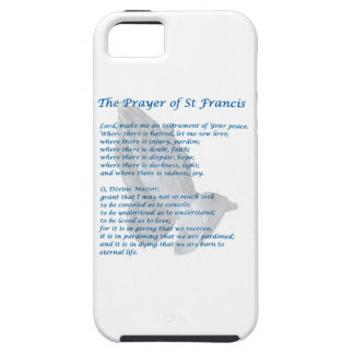 The St Francis Prayer iPhone 5 Cases