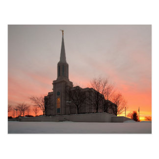 The St. Louis Missouri LDS Temple Postcard