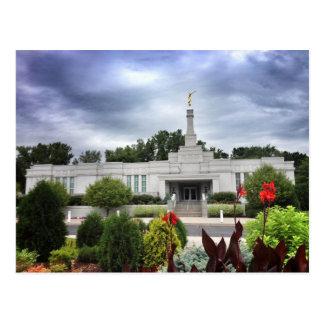 The St. Paul Minnesota LDS Temple Postcard