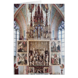 The St. Wolfgang Altarpiece  1471-81 Card