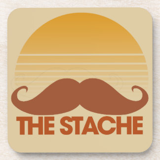 The Stache Coaster