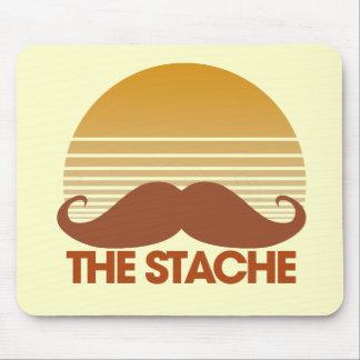 The Stache Retro Design Mouse Pad