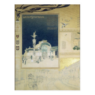 The Stadtbahn Pavilion of the Vienna Postcard