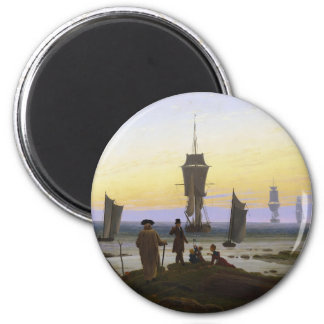 The Stages of Life 6 Cm Round Magnet