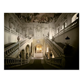 The staircase, built 1719-44 postcard