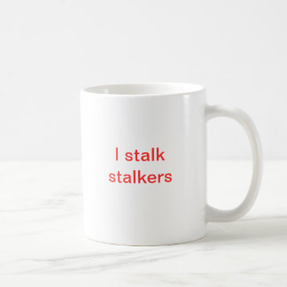 The Stalker's Stalker Basic White Mug
