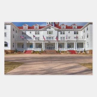The Stanley Hotel Rectangular Sticker