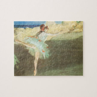 The Star Dancer on Point by Edgar Degas Jigsaw Puzzle