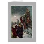 The Star of Bethlehem. Greeting Card