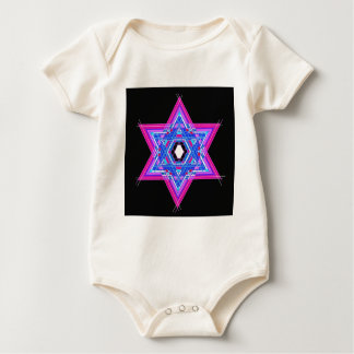The Star of David Baby Bodysuit