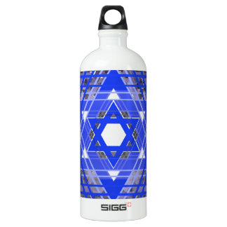 The Star of David Overlays. SIGG Traveller 1.0L Water Bottle