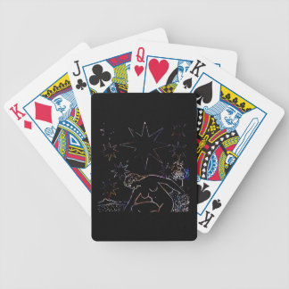 The Star Tarot Party Black Bicycle Playing Cards