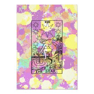 The Star Tarot Party Invitation