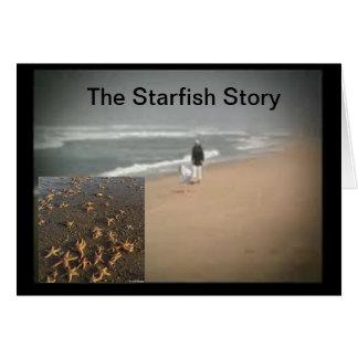 The Starfish Story Card