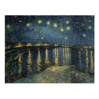 The Starry Night 1888 Postcards