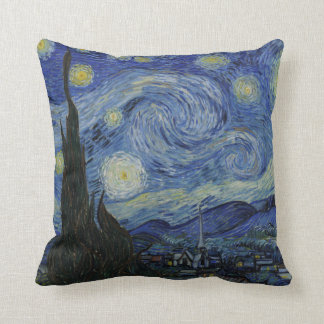 The Starry Night American MoJo Pillow