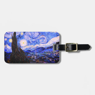 The Starry Night Bag Tag
