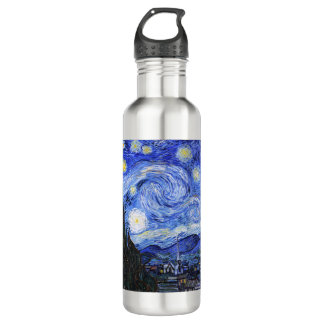 The Starry Night by Van Gogh 710 Ml Water Bottle