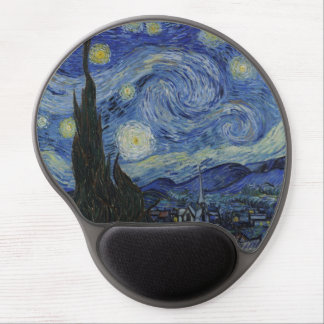 The Starry Night by Van Gogh Mousepad Gel Mouse Pad