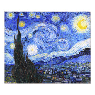 The Starry Night by Van Gogh Photographic Print