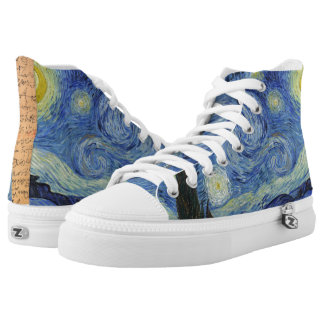 The Starry Night by Van Gogh Printed Shoes
