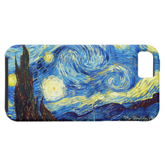 The Starry Night by Vincent van Gogh 1889 iPhone 5 Covers