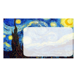 The Starry Night by Vincent van Gogh 1889 Pack Of Standard Business Cards