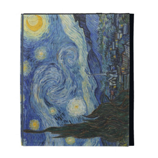 The Starry Night, June 1889 (oil on canvas) iPad Folio Cover