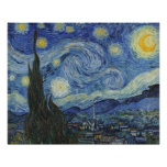The Starry Night, June 1889 (oil on canvas) Poster